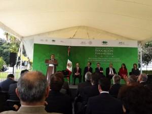 Inauguración oficial de la semana de educación financiera.