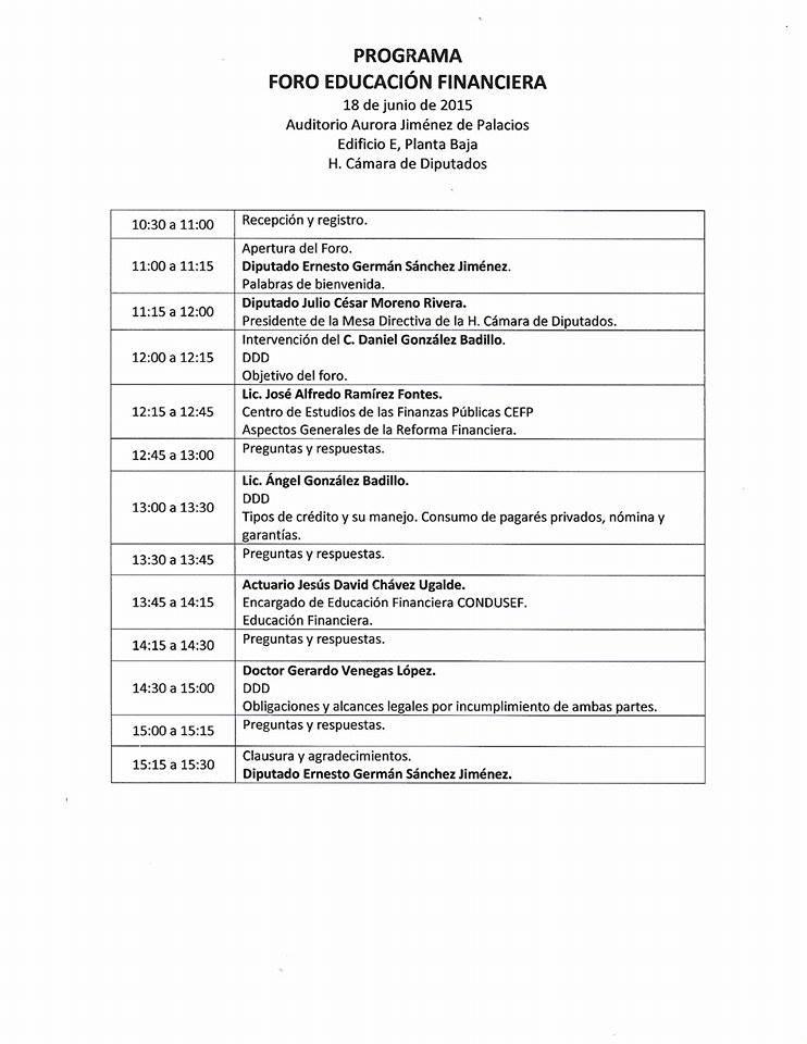 escuchen - AUDIO - PRIMER FORO DE EDUCACION FINANCIERA - ( ESCUCHEN ). 11355619_779593852157539_1526154481_n
