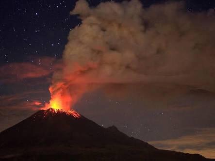 ¿Qué pasaría si el volcán Popocatépetl hicieraerupción?